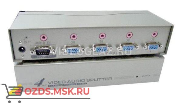 OSNOVO D-VA104: Разветвитель видеосигнала