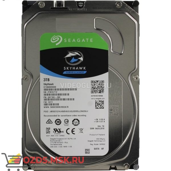 Seagate ST3000VX009: Жесткий диск