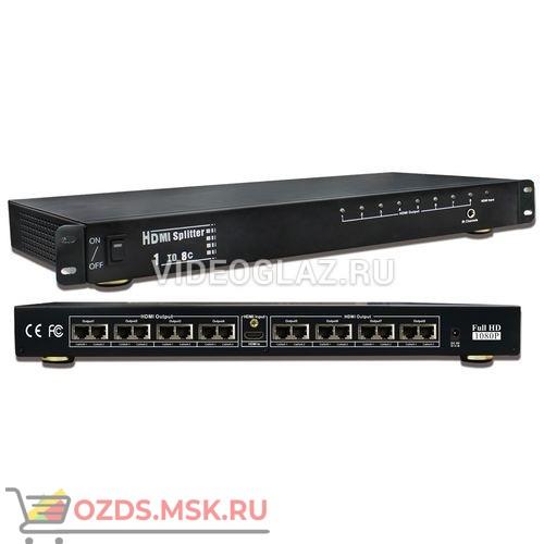 OSNOVO D-Hi108T: Разветвитель видеосигнала