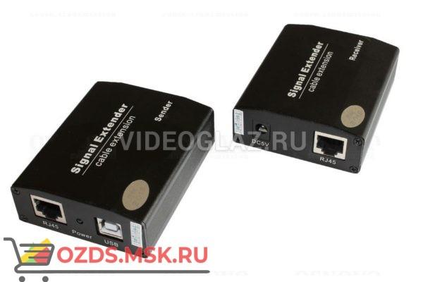 OSNOVO TA-U12+RA-U42: Передатчик видеосигнала по витой паре