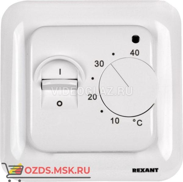 REXANT Терморегулятор механический с датчиком температуры пола (R70XT) (51-0531) Термостат