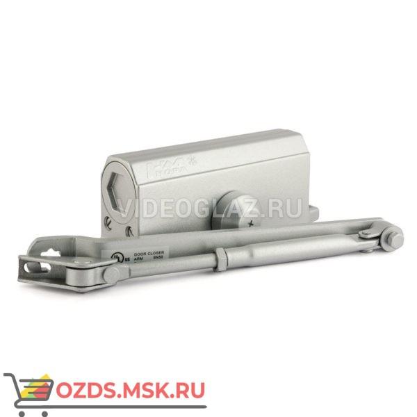 Нора-М Доводчик №3s F большой (до 80кг) (серебро) Стандартный доводчик