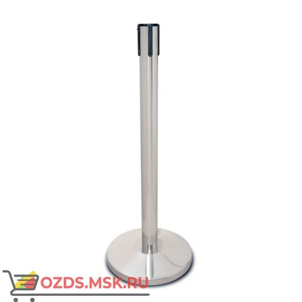 Oxgard Стойка ограждения передвижная с ремнем (2 метра красный с тормозом)(ВЗР 2387.04) Дополнительный элемент для ограждения