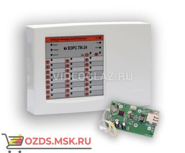 ВЭРС-ПК 24LAN версия 3.2 Прибор приемно-контрольный охранно-пожарный