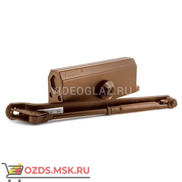 Нора-М Доводчик №4S (до 120кг) (коричневый) Стандартный доводчик