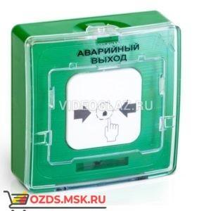 Рубеж УДП 513-10 исп.1 Аварийный выход (зелёный) Извещатели пожарные ручные