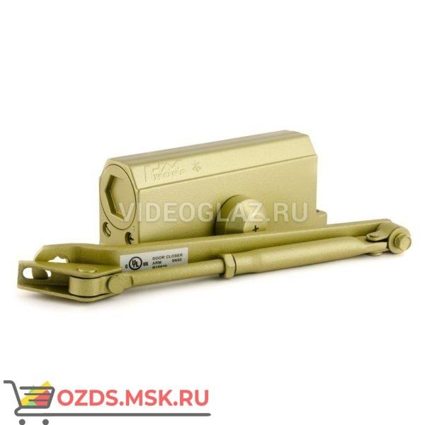 Нора-М Доводчик №3S малый (до 80кг) (золото) Стандартный доводчик