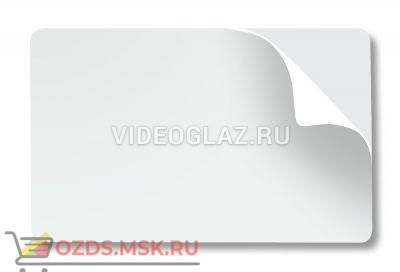 Fargo PVC наклейка чистая для печати 81759 500шт. Расходный материал для принтера