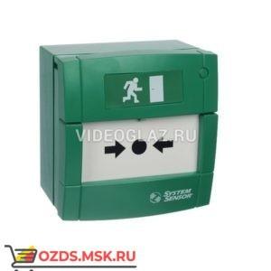 System Sensor УДП3A-G000SF-S214-01 (зеленый) Извещатели пожарные ручные