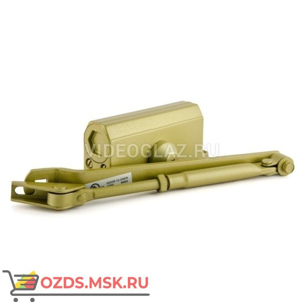 Нора-М Доводчик №2s F (до 50кг) (золото) Стандартный доводчик