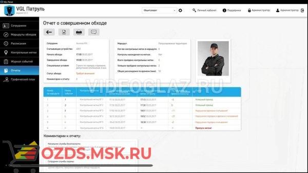 Лицензионный ключ офлайн ПО VGL Клиент Система контроля охраны