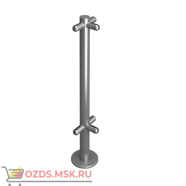 Oxgard Стойка ограждения под стекло Т-образная h=800мм(ВЗР 2462-00.02-08) Дополнительный элемент для ограждения