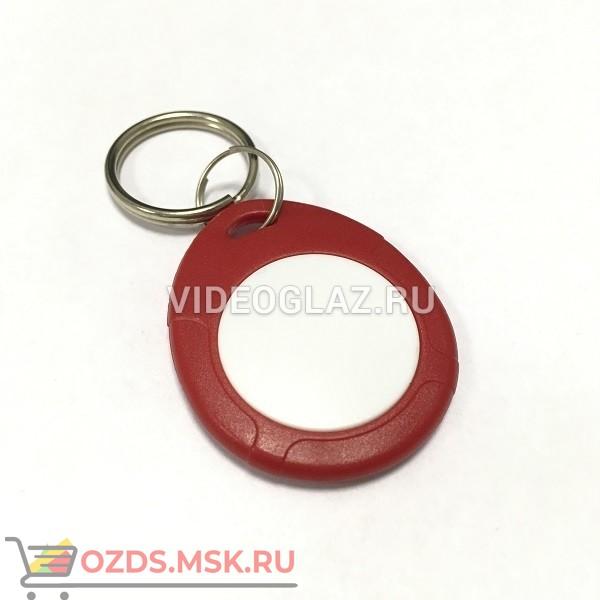 IronLogic Брелок Temic IL-07, c кольцом, красно-белый Брелок Proximity