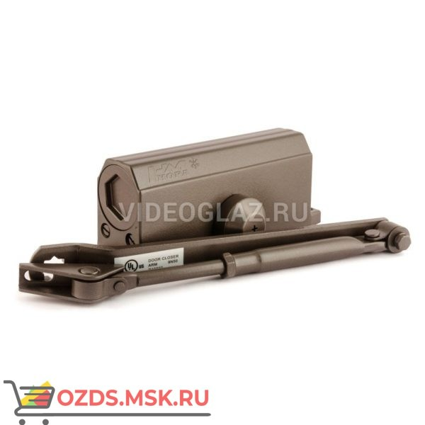 Нора-М Доводчик №3S малый (до 80кг) (бронза) Стандартный доводчик