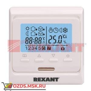 REXANT Терморегулятор с дисплеем и автоматическим программированием (R51XT) (51-0532) Термостат