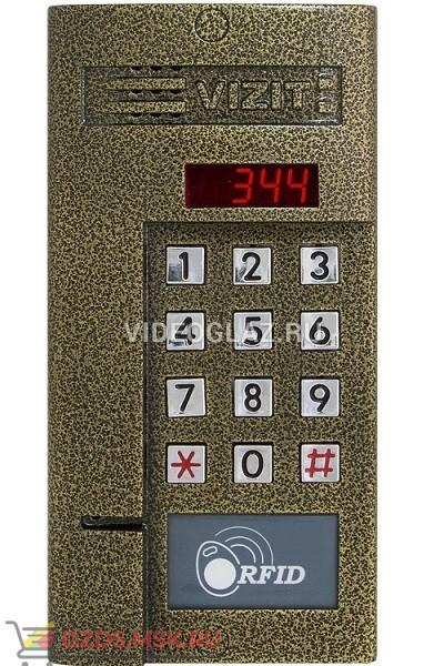 VIZIT БВД-344RT Вызывная панель аудиодомофона