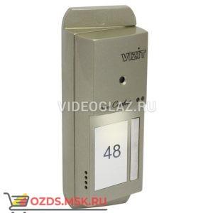 VIZIT БВД-444CP-1-R Вызывная панель видеодомофона