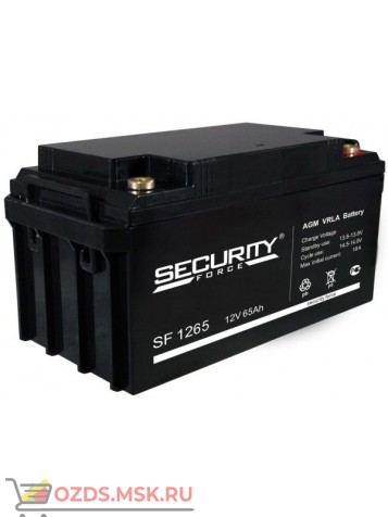 Security Force SF 1265 Аккумулятор