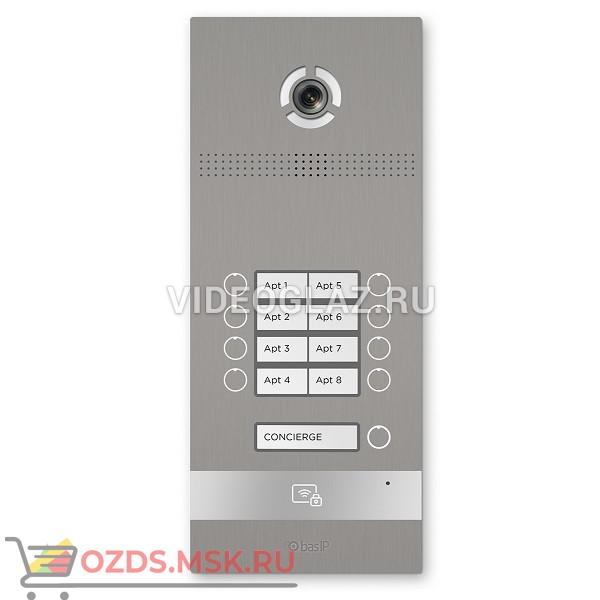BAS-IP BI-08FB SILVER Вызывная панель IP-домофона