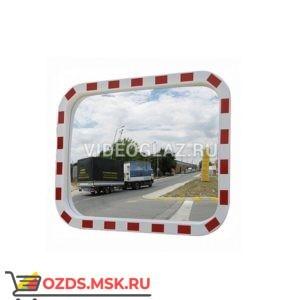 DL Зеркало 600х800 мм уличное, со световозвращателями Дорожное зеркало