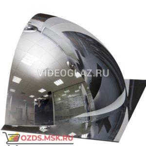 Зеркало для помещений купольное четверть сферы d-600 мм Зеркало сферическое обзорное