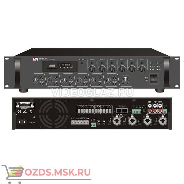 LPA-TrueZone-500 Микшер-усилитель