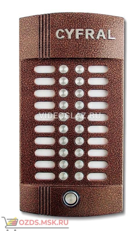 Цифрал M-20MT Вызывная панель аудиодомофона