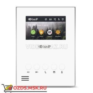 BAS-IP AU-04LA WHITE Монитор IP-домофона