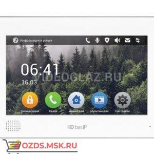 BAS-IP AQ-10 WHITE Монитор IP-домофона