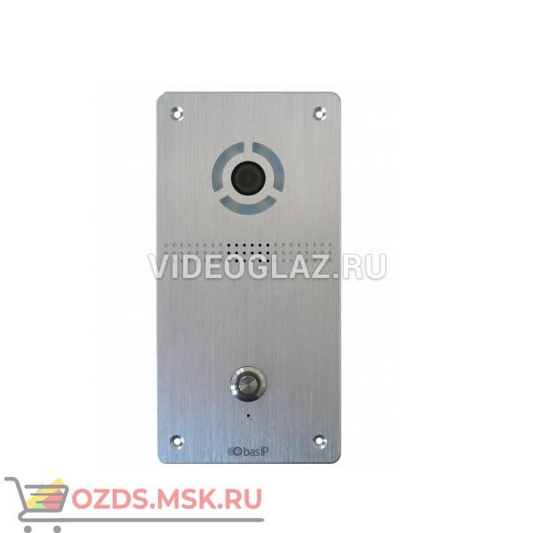 BAS-IP AV-04FD SILVER Вызывная панель IP-домофона