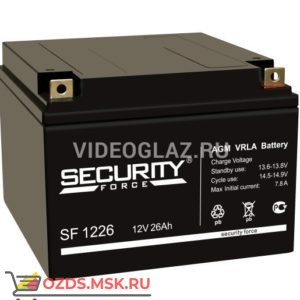 Security Force SF 1226 Аккумулятор