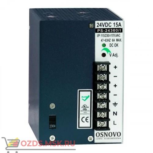 OSNOVO PS-48360I Источник питания 48В