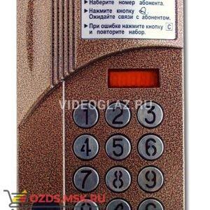 Цифрал CCD 2094.1ИР Вызывная панель аудиодомофона