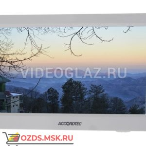AccordTec AT-VD 750CSD WH Монитор видеодомофона с памятью