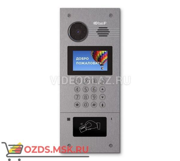 BAS-IP AA-07BC Silver Вызывная панель IP-домофона