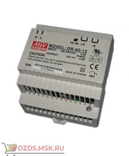 Hostcall DR-60-12 PBF MW Источник питания до 12В