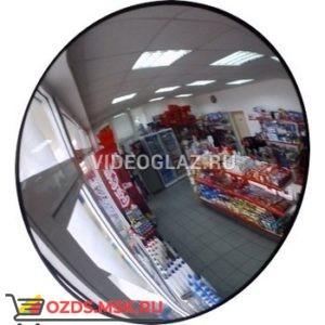 Зеркало для помещений круглое с гибким кронштейном d-500 мм Зеркало сферическое обзорное