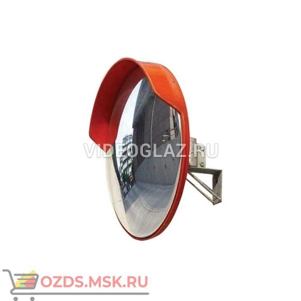 DL Зеркало 600 мм универсальное, с козырьком Дорожное зеркало