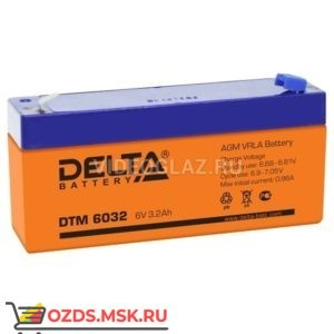 Delta DTM 6032 Аккумулятор