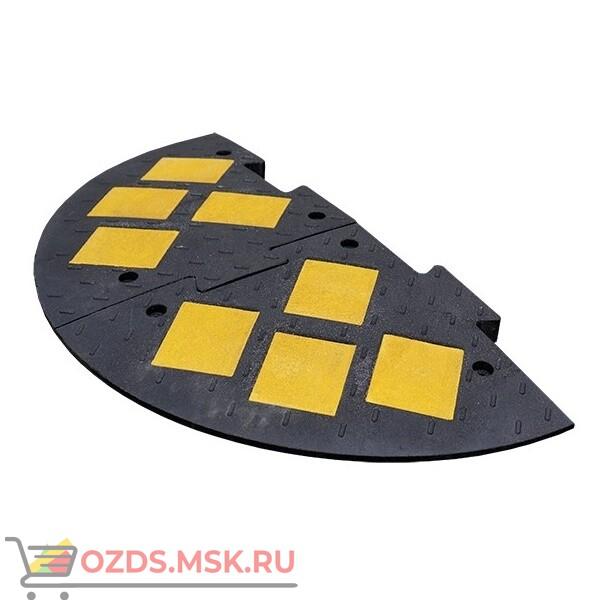 ИДН 1100-2(композит) черный Лежачий полицейский