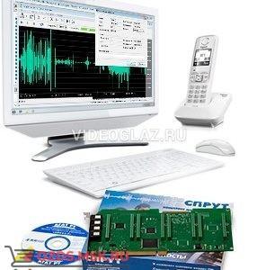 Агат-РТ SPRUT-WEB (1 user 256 canal) Система записи на базе плат компьютерной телефонии «Спрут-7»