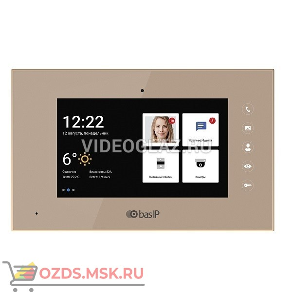 BAS-IP AQ-07LA GOLD Монитор IP-домофона