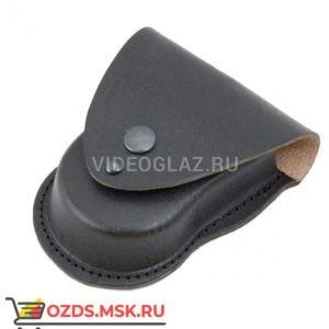 Черный формованный чехол для наручников БРС Наручники