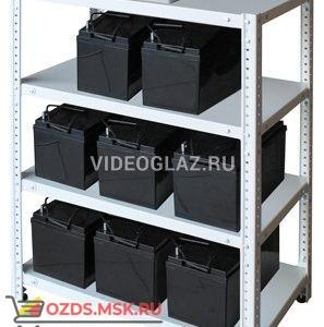 СКАТ Стеллаж для АКБ 1,0х0,7х0,4-4П Вспомогательное устройство к источнику питания