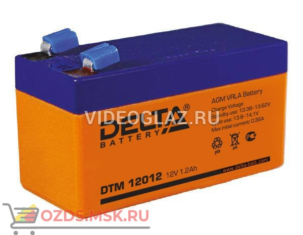 Delta DTM 12012 Аккумулятор