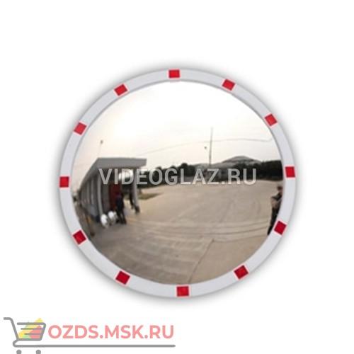 DL Зеркало 630 мм уличное, со световозвращателями Дорожное зеркало