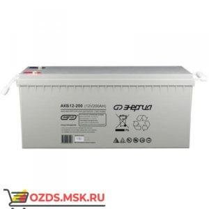 Энергия АКБ 12-200 Е0201-0018 Аккумулятор