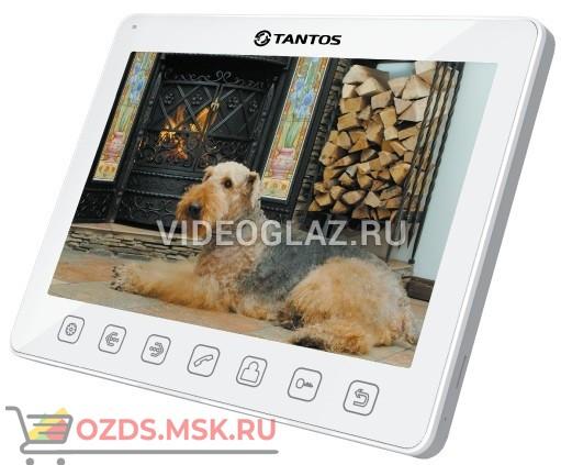 Tantos Sherlock (white) Монитор видеодомофона