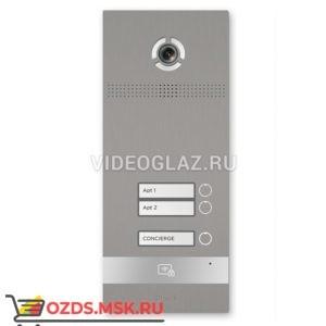 BAS-IP BI-02FB SILVER Вызывная панель IP-домофона