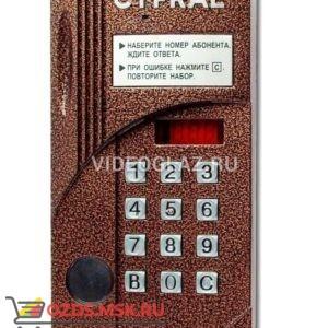 Цифрал CCD-2094МРК Вызывная панель аудиодомофона